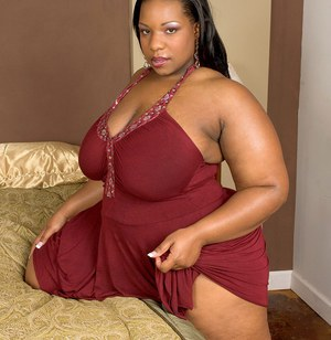 image Black granny with fat and beautiful ass